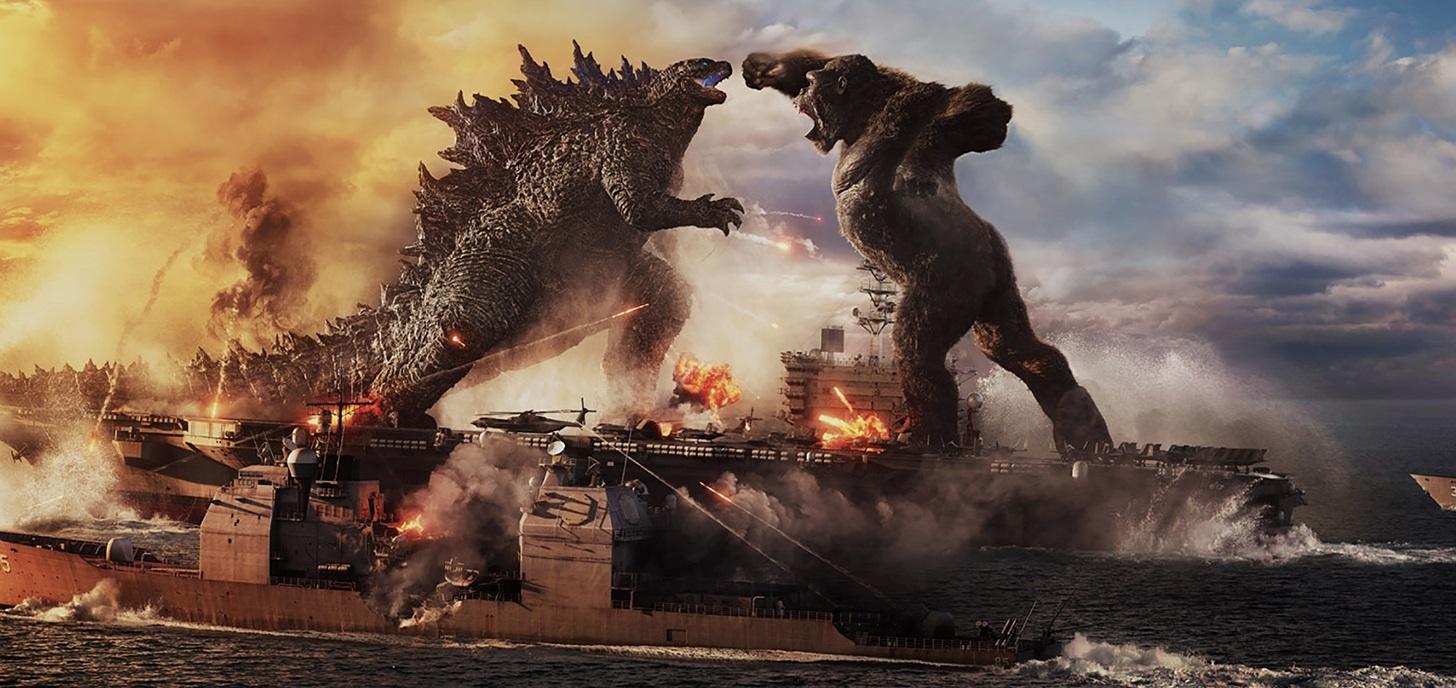 Now Showing: Godzilla vs Kong